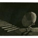 Treppe - Aquatinta 2000