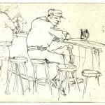 Bar - Ätzradierung 1999