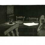 Blatt - Aquatinta 2000