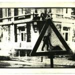 Schild - Fotoradierung 2000