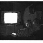 Fernseher - Aquatinta 1999